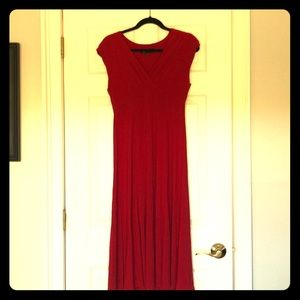 Sexy red cocktail dress